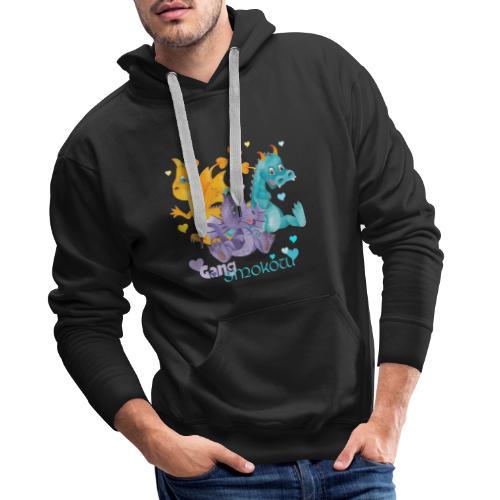Gang Smoków - Bluza męska Premium z kapturem