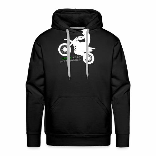 Green Team Szemzdrowo Zapraszam do kupna - Bluza męska Premium z kapturem