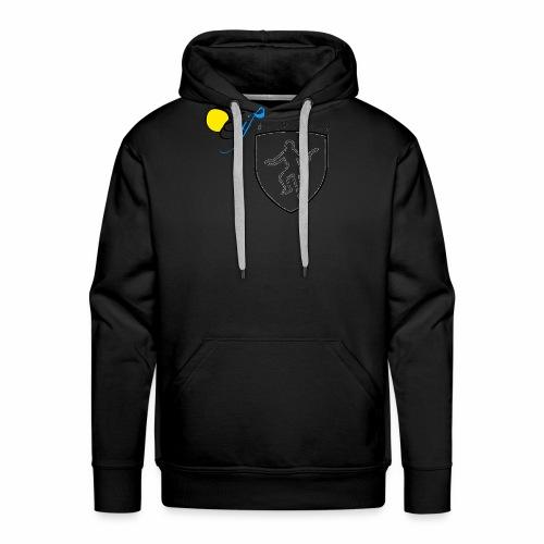 OC Gif Escrime - Sweat-shirt à capuche Premium pour hommes