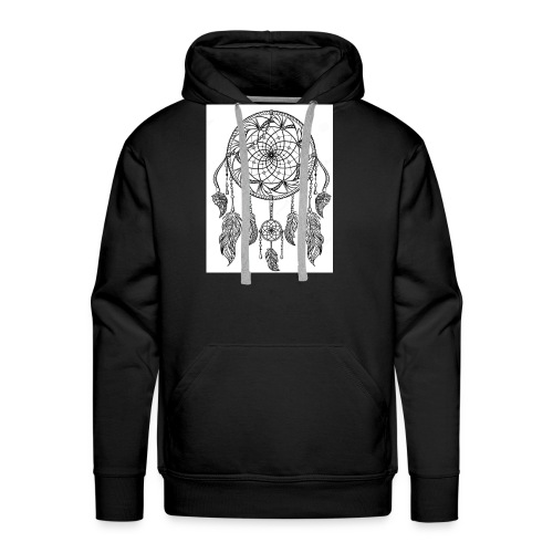 Atrapa sueños - Sudadera con capucha premium para hombre