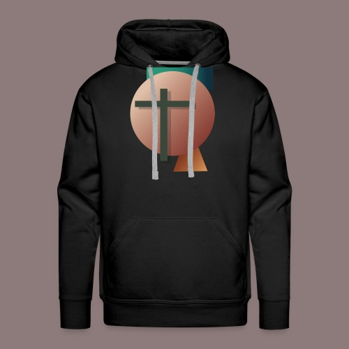 Retro Cross - Männer Premium Hoodie