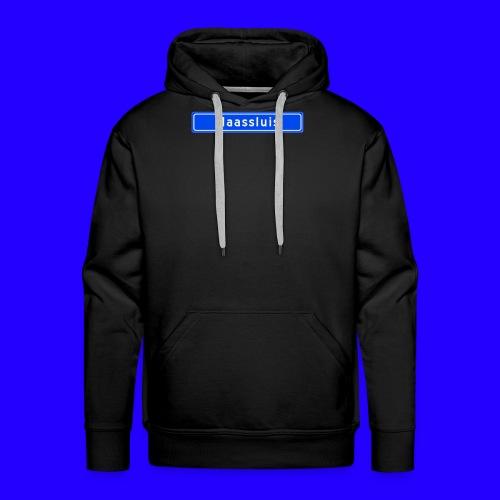 Maassluis box logo - Mannen Premium hoodie