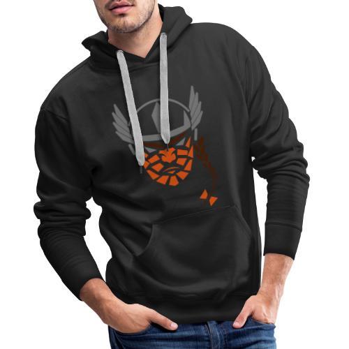 vrouwviking - Mannen Premium hoodie