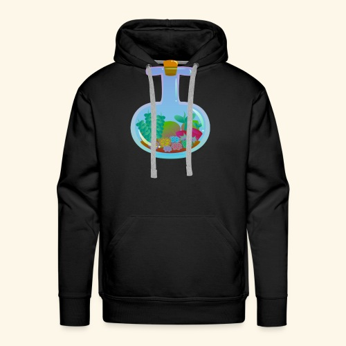 Bottled Succulents - Men's Premium Hoodie
