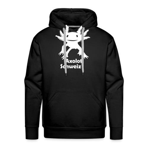 Axolotl weiss - Männer Premium Hoodie