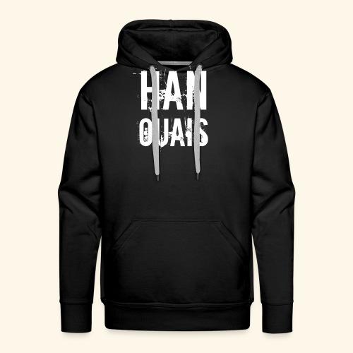 Han ouais basic 2 tribunal charleroi - Sweat-shirt à capuche Premium pour hommes