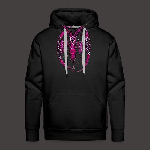 Chauve SourisDentelle Rose - Sweat-shirt à capuche Premium pour hommes
