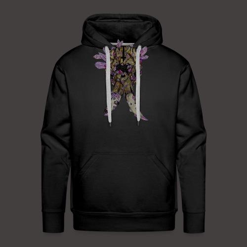 L'éléphant de Cristal Creepy - Sweat-shirt à capuche Premium pour hommes