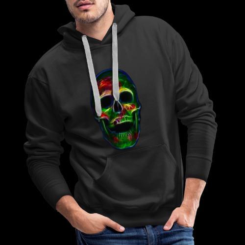 Skull of transformation - Männer Premium Hoodie