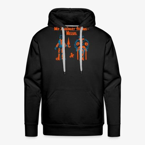 My imaginary friends T-shirt - Männer Premium Hoodie