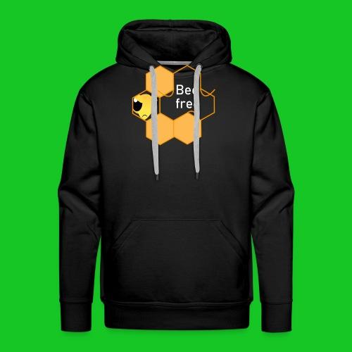 Bee Free - Mannen Premium hoodie