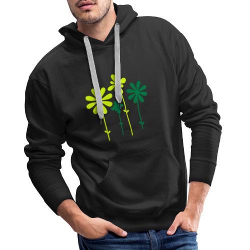 Sommerblume - Männer Premium Hoodie