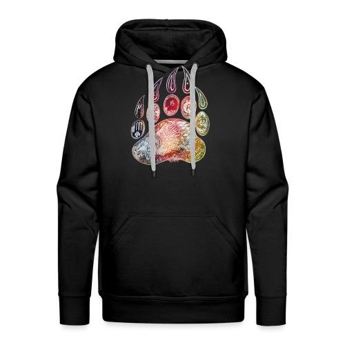 Patte d'ours - Forest Keeper - Sweat-shirt à capuche Premium pour hommes