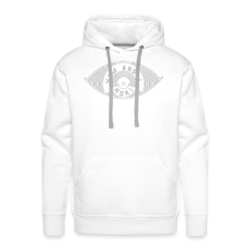 Him and i (White) - Sweat-shirt à capuche Premium pour hommes