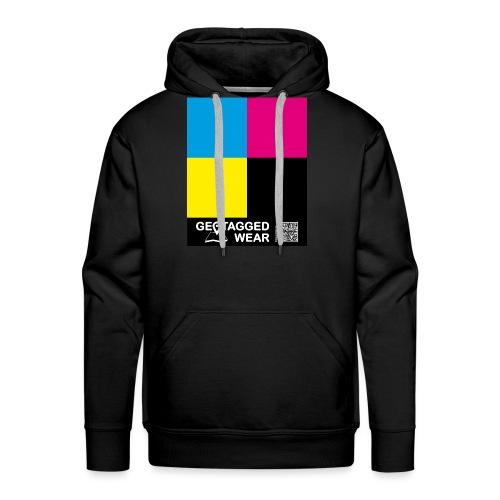 Square CMYK #1 - CMYK Collection - Männer Premium Hoodie