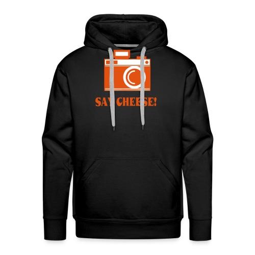 say cheese - Mannen Premium hoodie
