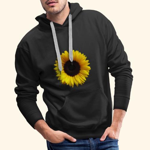 Sonnenblume, Sonnenblumen, Blume, Blüte, floral - Männer Premium Hoodie