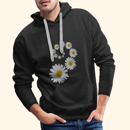 Margeriten Blume, Blumen, Blüte, floral, blumig - Männer Premium Hoodie