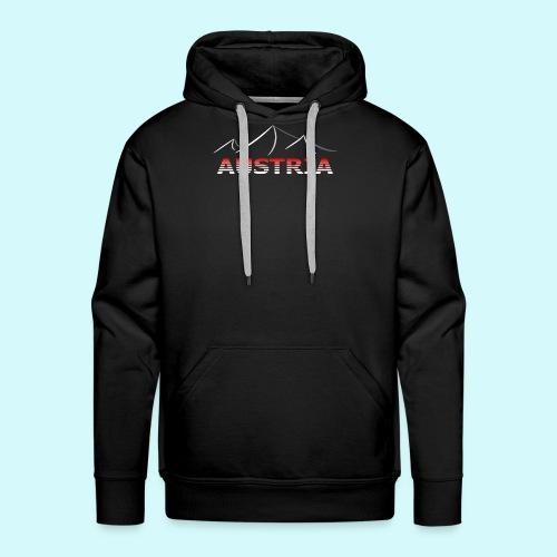 Austria - Österreich Berge T-Shirt - Männer Premium Hoodie