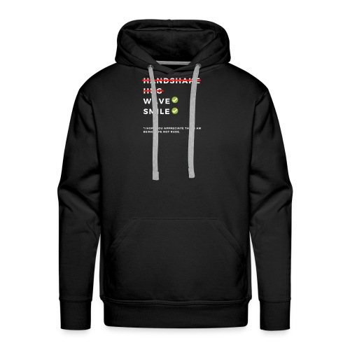 CORONAVIRUS Prevention Apparel (Safe Not Rude) - Men's Premium Hoodie