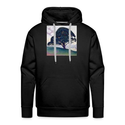 Camiseta el arbol de la suerte - Sudadera con capucha premium para hombre