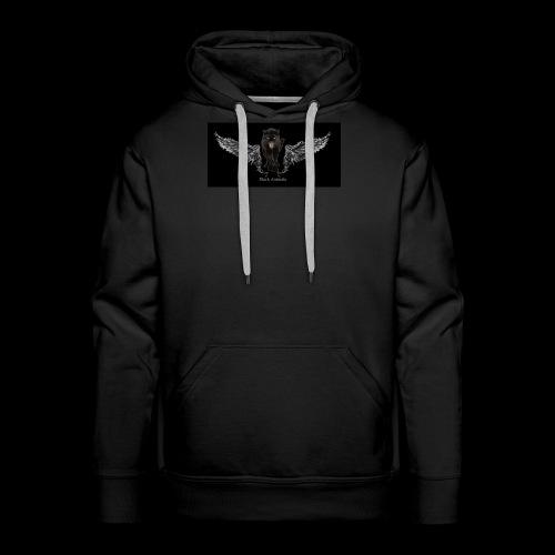 panthère ange - Sweat-shirt à capuche Premium pour hommes