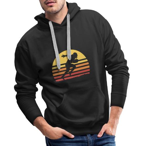 Football Sunset - Männer Premium Hoodie