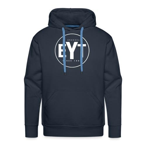 EYT Logo White - Men's Premium Hoodie