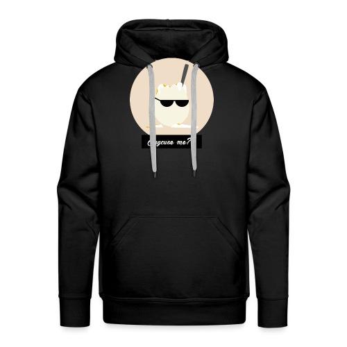 Eggcuse me 5 - Sweat-shirt à capuche Premium pour hommes