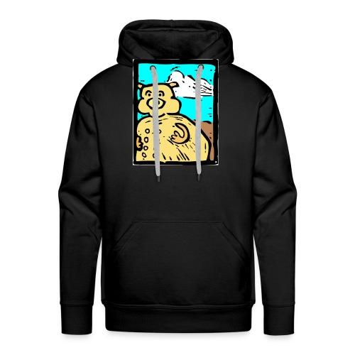 vark color - Mannen Premium hoodie
