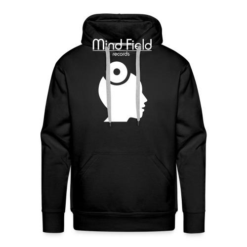 FinWhite MindFieldLogoLAR - Men's Premium Hoodie