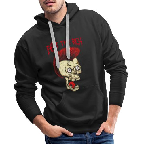 Eat The Rich (For Dark Shirts) - Männer Premium Hoodie
