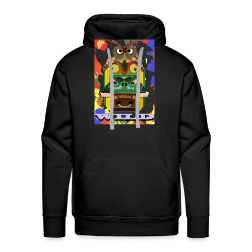 Totem Animal - Sweat-shirt à capuche Premium pour hommes