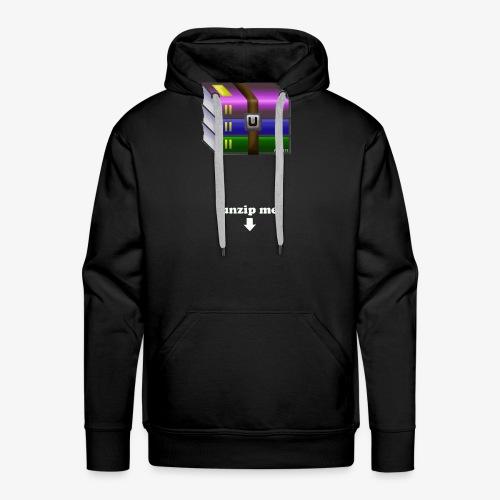 unzip me - Sweat-shirt à capuche Premium pour hommes