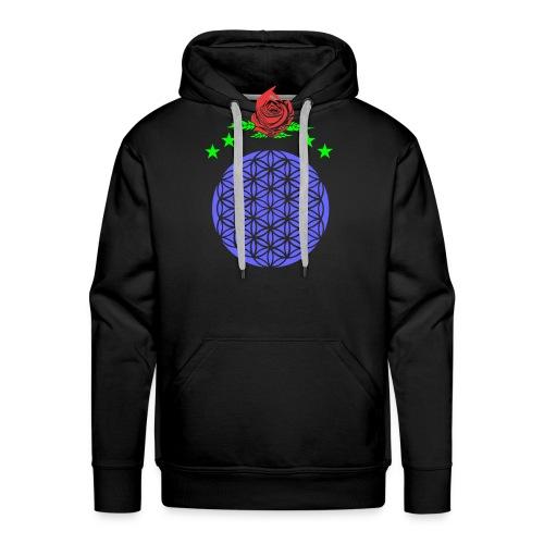 flor de vida - Sudadera con capucha premium para hombre