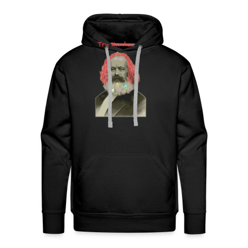 Try Harder, Comrade! - Men's Premium Hoodie