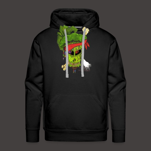 PIRATE BROCCOLI - Sweat-shirt à capuche Premium pour hommes