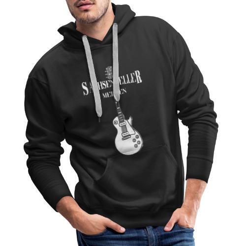 Sachsenkeller Meißen mit Gitarre / Doppeldruck - Männer Premium Hoodie