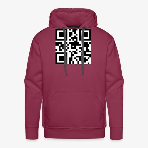QR Code Unique - Men's Premium Hoodie