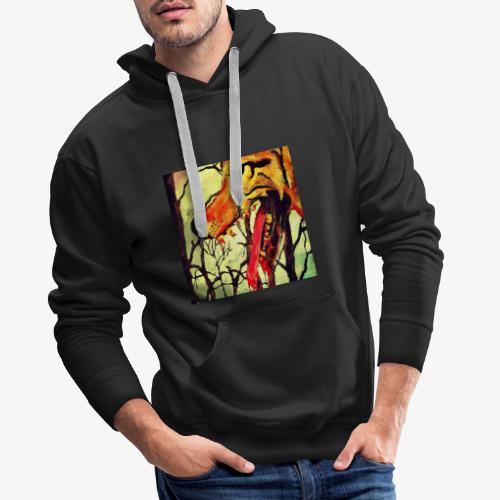 The wolf at the door - Men's Premium Hoodie