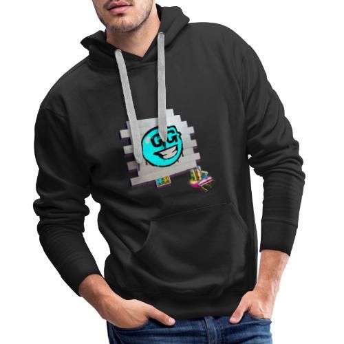 logo emoji - Sudadera con capucha premium para hombre