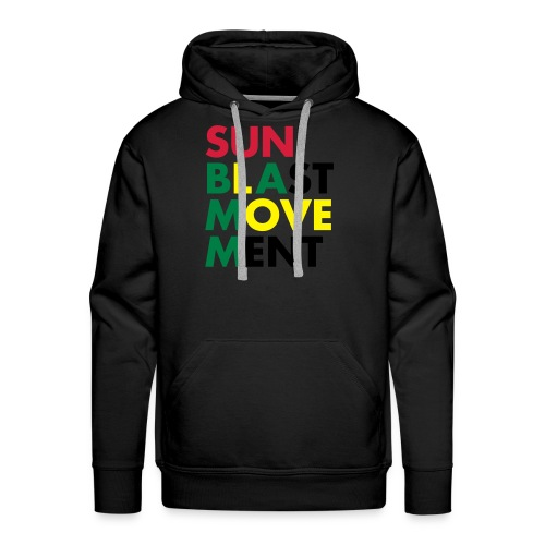Sunblast Movement Love - Männer Premium Hoodie