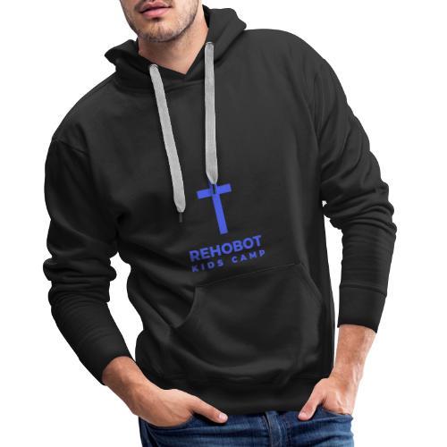 Blue Logo - Men's Premium Hoodie