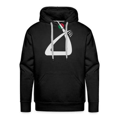 logo w - Männer Premium Hoodie