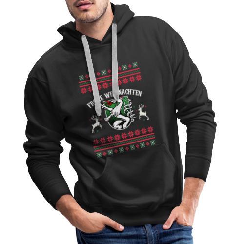 Frohe Weihnachten Steiermark Geschenk Steirer - Männer Premium Hoodie
