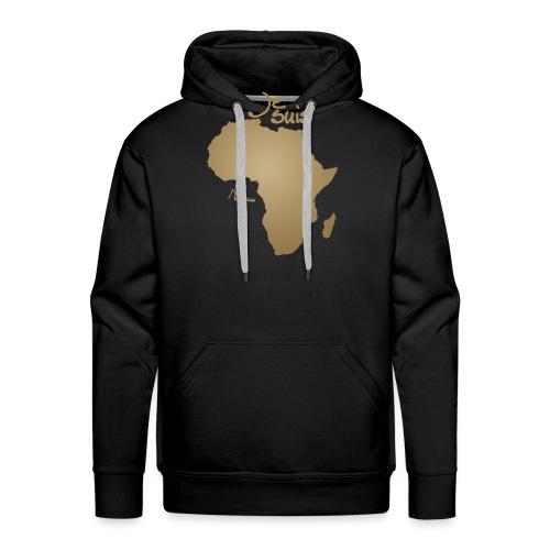 Je suis Afrique / Je suis Aklaaa - Sweat-shirt à capuche Premium pour hommes