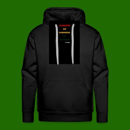 Yellow RED - Sweat-shirt à capuche Premium pour hommes