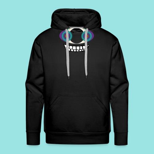 Crazy alpha - Sweat-shirt à capuche Premium pour hommes