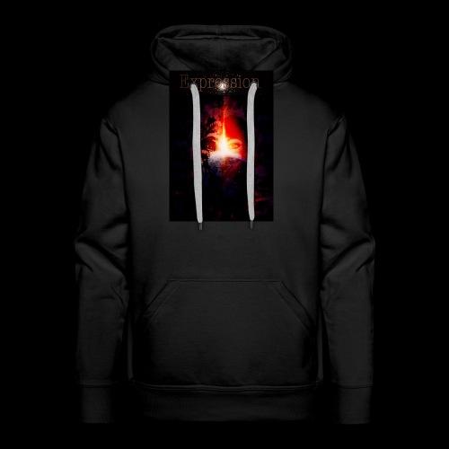 Expression - Mannen Premium hoodie