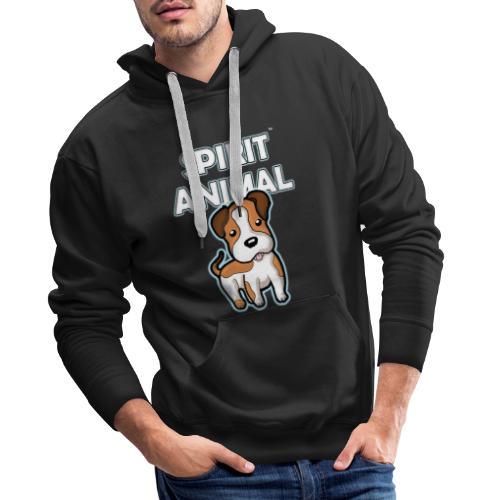 Spirit Animal Dog - Men's Premium Hoodie